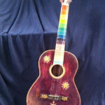 Hippy Guitar - Prop For Hire