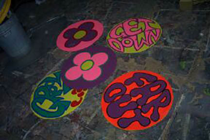 Hippy Signs - Prop For Hire