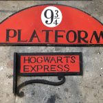 Hogwarts Signage - Prop For Hire