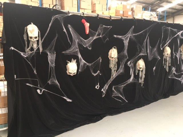 Horror Backdrop - Prop For Hire