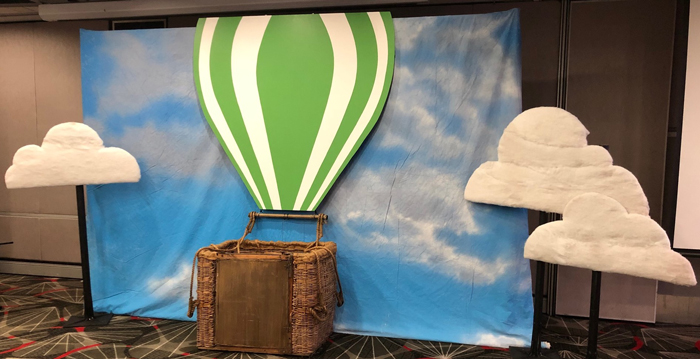 Hot Air Balloon Basket - Prop For Hire