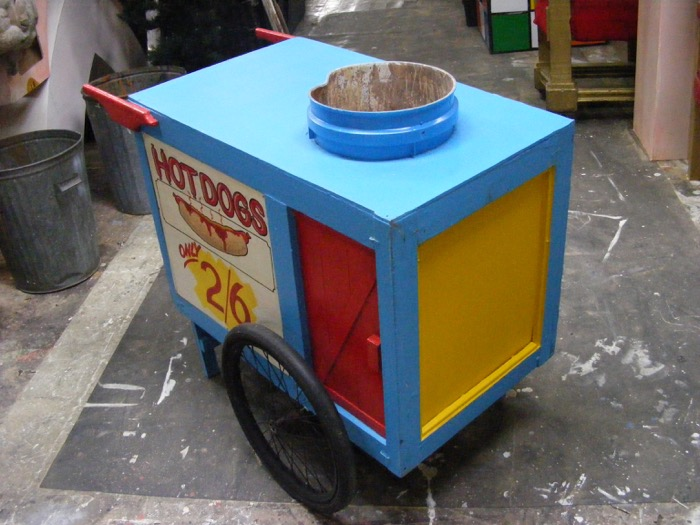 Hot Dog Cart 1 - Prop For Hire