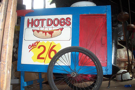 Hot Dog Cart 2 - Prop For Hire