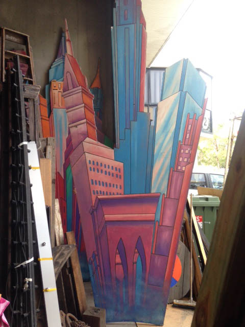 Hyper Real Cityscape 1 - Prop For Hire