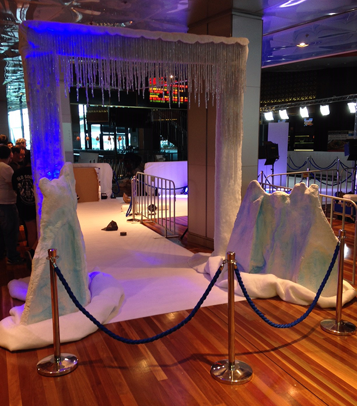 Ice Entrance 1 - Prop For Hire