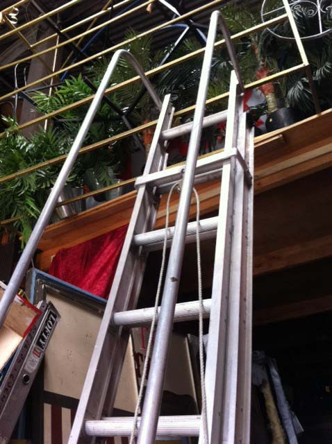 Industrial Ladder - Prop For Hire