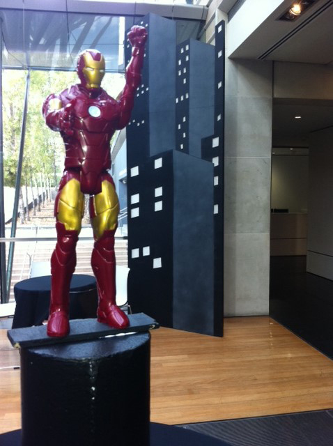 Iron Man Statue - Prop For Hire