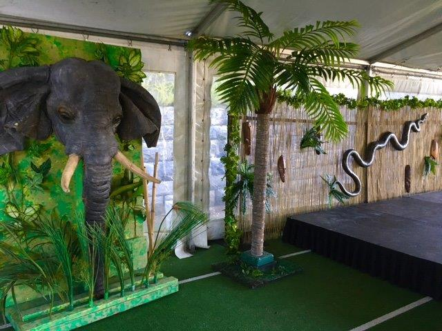Jungle Elephant - Prop For Hire