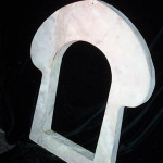 Key Hole Window Frames - Prop For Hire