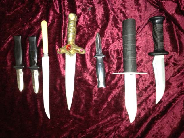 Knifes 1 - Prop For Hire