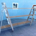 Ladder Shelves - Prop For Hire
