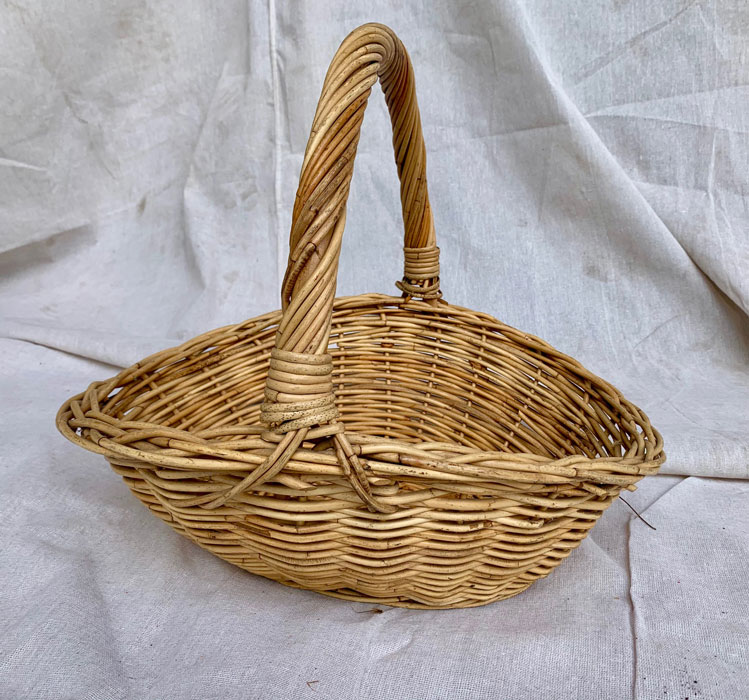 Large Basket With Handle - Prop For Hire