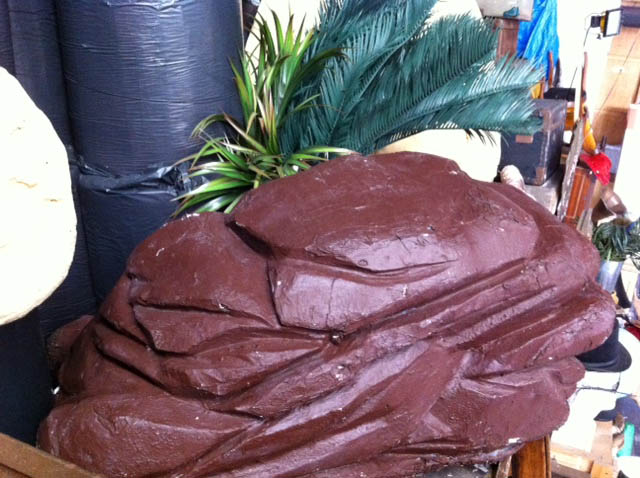 Large Brown Rocks - Prop For Hire