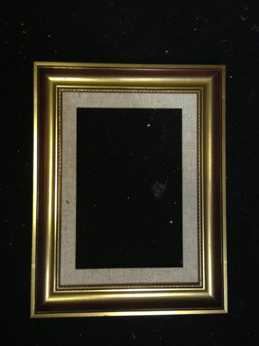 Large Gold Frame - Prop For Hire