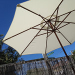 Large Outdoor Umbrella - Prop For Hire
