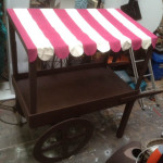 Large Pattiserie Cart - Prop For Hire