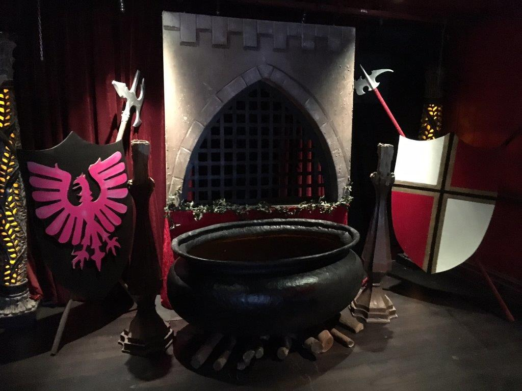 Large Shields Scene - Prop For Hire