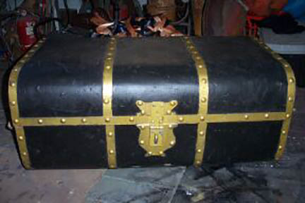Large Treasure Chest - Prop For Hire