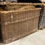 Large Wicker Skip Basket - Prop For Hire