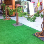 Leafy Bollards - Prop For Hire