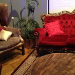 Leather Armchair - Prop For Hire