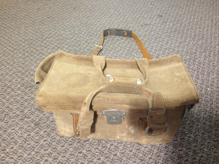 Leather Satchel - Prop For Hire