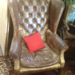 Wingback Armchair - Prop For Hire