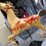 Lifesize Carousel Horse - Prop For Hire