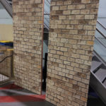 Light Brick Wall Backdrop - Prop For Hire