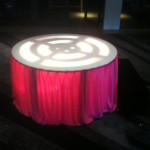 Lightup Podium - Prop For Hire
