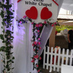 Little White Chapel Sign - Prop For Hire