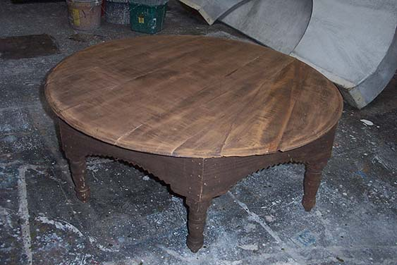 Low Arabian Table - Prop For Hire