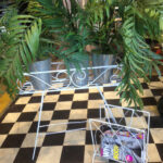 Magazine Rack Plant Stand - Prop For Hire