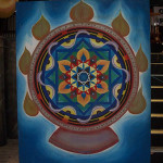 Mandala Backdrop - Prop For Hire