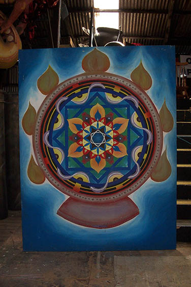 Mandala Backdrop - Prop For Hire