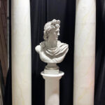 Marble Bust Columns - Prop For Hire