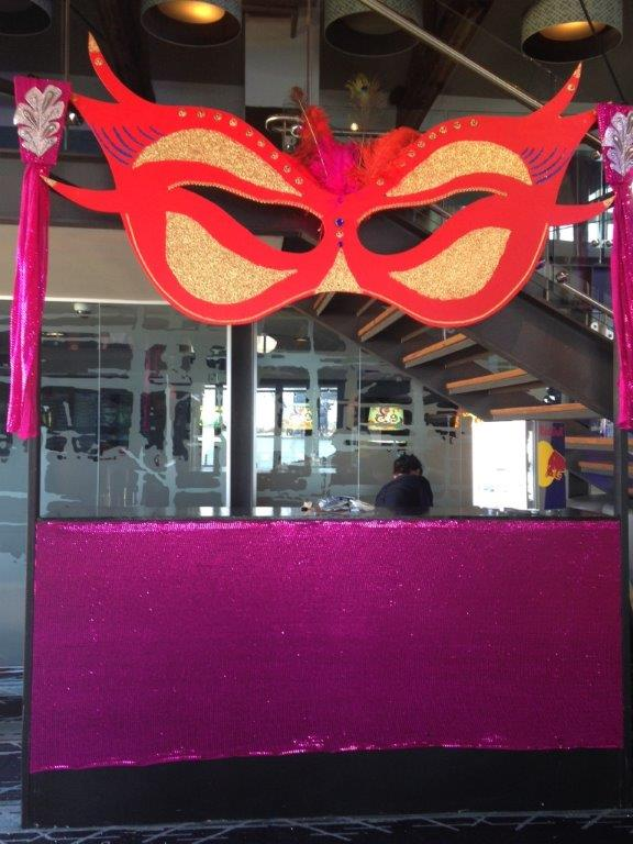 Mask Bar - Prop For Hire