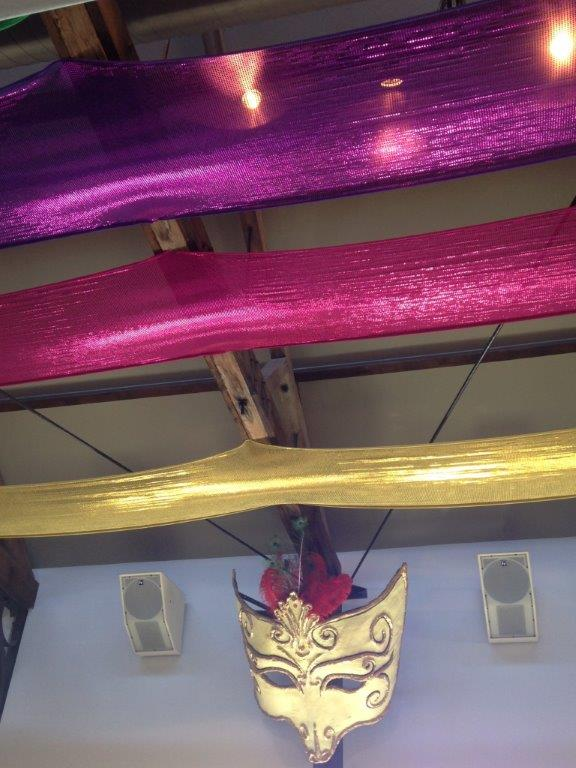 Mask Ceiling Decor - Prop For Hire