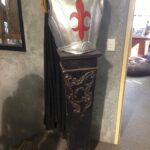 Medieval Armour And Plinth - Prop For Hire