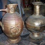 Medium Golden Urns - Prop For Hire