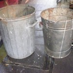 Metal Garbage Cans - Prop For Hire