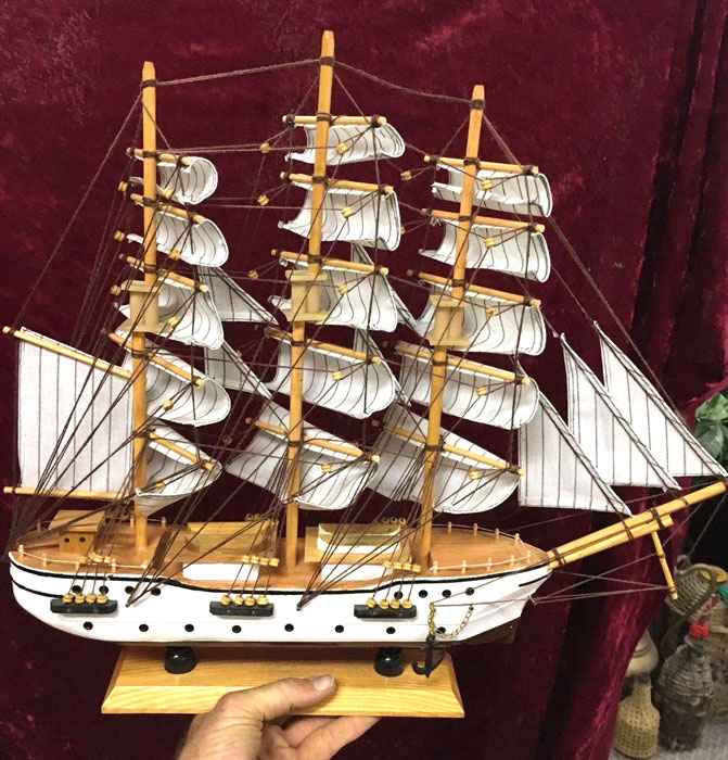 Model Ship - Prop For Hire