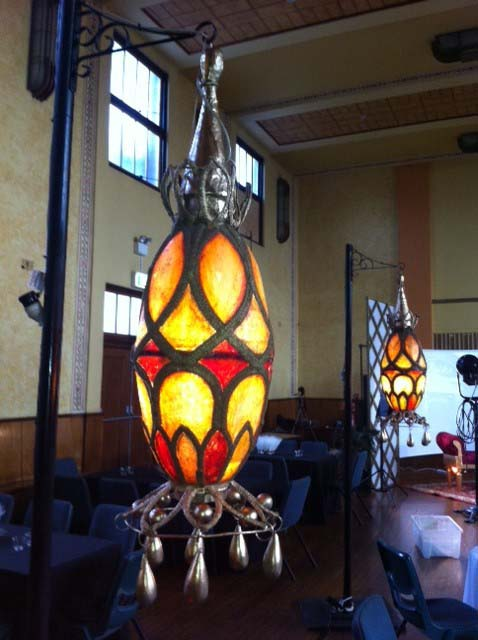 Morrocan Hanging Lights - Prop For Hire