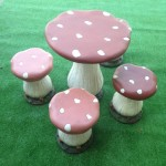 Mushroom Furniture - Prop For Hire