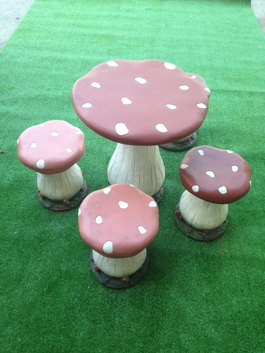 Mushroom Furniture - Prop For Hire