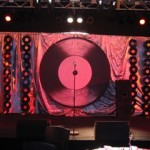 Record Backdrop - Prop For Hire