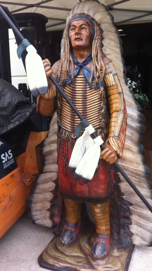 Native American Chief 2 - Prop For Hire