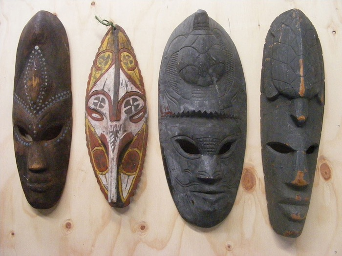 Native Masks 1 - Prop For Hire