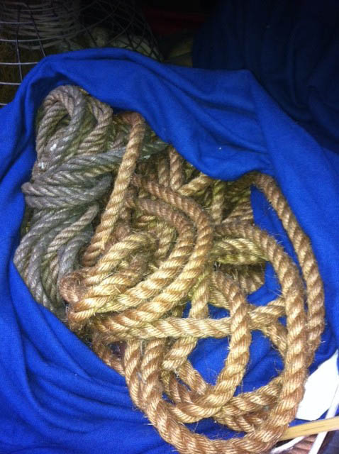 Natural Ropes - Prop For Hire