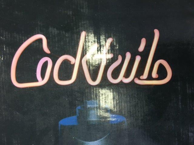Neon Cocktail Sign - Prop For Hire